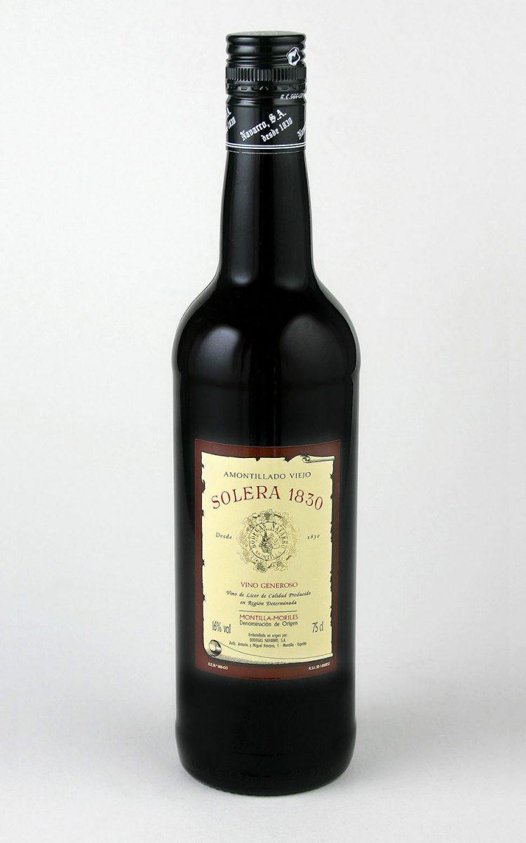 Bodegas Navarro: Amontillado Solera 1830
