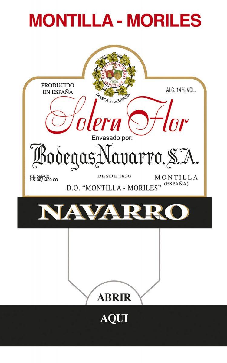 BaginBox Bodegas Navarro Solera Flor Wine