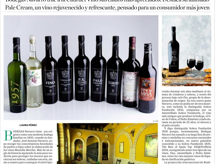 Bodegas Navarro Cata del Vino Montilla-Moriles